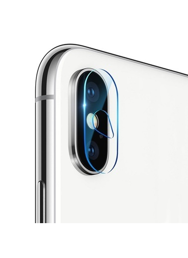 Microsonic iPhone XS Max (6.5'') Kamera Lens Koruma Camı Renksiz